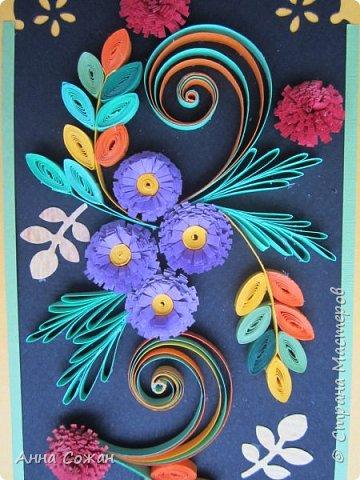 Здравствуйте милые мастерицы! Приглашаю вас посмотреть на осенние открытки, которые уже подарились очень хорошим людям!  фото 9