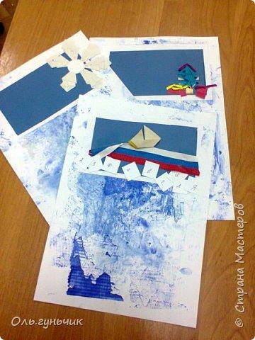 Вот накопились работы моих учеников, показываю))) Вот таких котяток из гофрированной бумаги сделали четвероклашки. Спасибо за идею Ольге: https://stranamasterov.ru/node/123563 фото 12