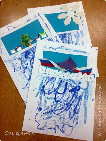 Вот накопились работы моих учеников, показываю))) Вот таких котяток из гофрированной бумаги сделали четвероклашки. Спасибо за идею Ольге: https://stranamasterov.ru/node/123563 фото 13