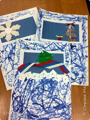 Вот накопились работы моих учеников, показываю))) Вот таких котяток из гофрированной бумаги сделали четвероклашки. Спасибо за идею Ольге: https://stranamasterov.ru/node/123563 фото 16