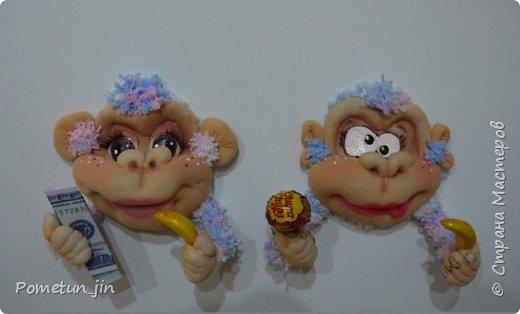 Мастер-класс Поделка изделие Новый год Шитьё МК crazy monkey Капрон Пряжа фото 1
