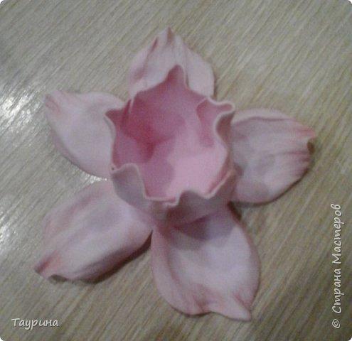 Мастер-класс Свит-дизайн Моделирование конструирование Очень подробный МК цветка из фома для свит-дизайна и не только Фоамиран фом фото 10