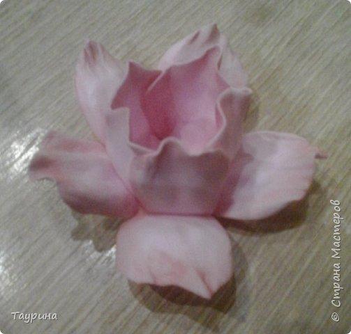Мастер-класс Свит-дизайн Моделирование конструирование Очень подробный МК цветка из фома для свит-дизайна и не только Фоамиран фом фото 12