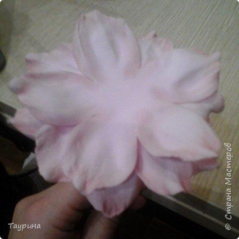 Мастер-класс Свит-дизайн Моделирование конструирование Очень подробный МК цветка из фома для свит-дизайна и не только Фоамиран фом фото 15