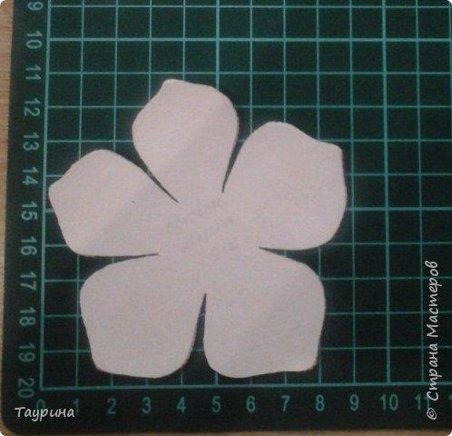 Как сделать цветы яблони из фоамирана