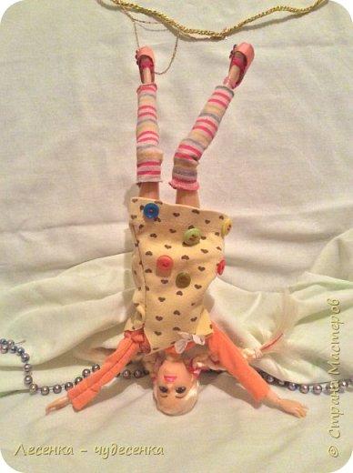 """Всем привет ! Я сдаю работу на конкурс """" Кукольный косплей """" . Сегодня мы в образе Пеппи .  фото 6"""
