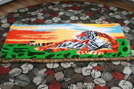ковровая пряжа