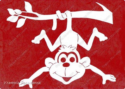 Веселые обезьяны - мандорла 0016 года! фотка 0