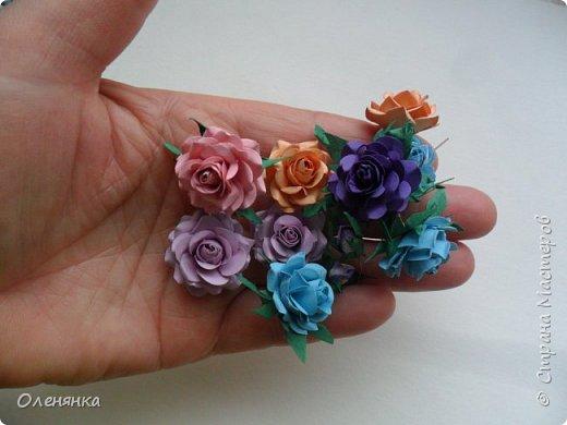 приветствую жителей страны а также гостей ! в своих работах я  в основном использую самодельные цветы  и вот решила показать что я накрутила за последние дни . фото 3