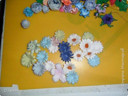 приветствую жителей страны а также гостей ! в своих работах я  в основном использую самодельные цветы  и вот решила показать что я накрутила за последние дни . фото 5