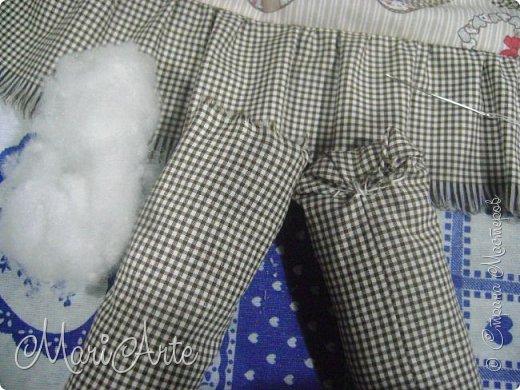 Интерьер Мастер-класс Шитьё Зайчиха с зайчатами М К Клей Краска Нитки Ткань фото 34