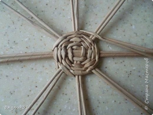 Мастер-класс Поделка изделие Плетение Плетеные кружки как их делела я    Трубочки бумажные фото 5