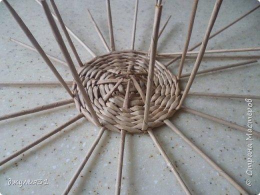 Мастер-класс Поделка изделие Плетение Плетеные кружки как их делела я    Трубочки бумажные фото 8