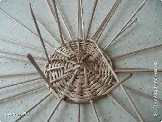 Мастер-класс Поделка изделие Плетение Плетеные кружки как их делела я    Трубочки бумажные фото 9