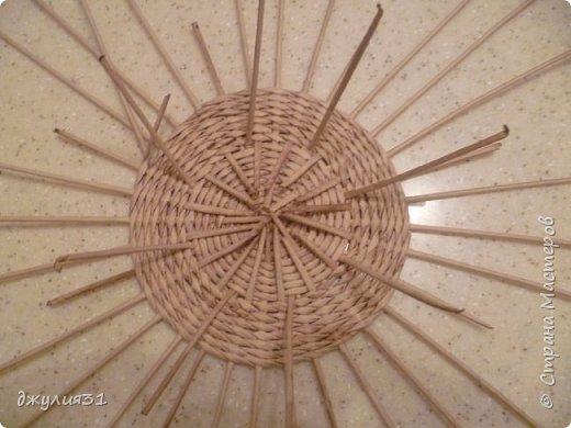 Мастер-класс Поделка изделие Плетение Плетеные кружки как их делела я    Трубочки бумажные фото 11