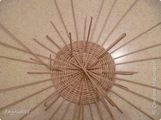 Мастер-класс Поделка изделие Плетение Плетеные кружки как их делела я    Трубочки бумажные фото 12
