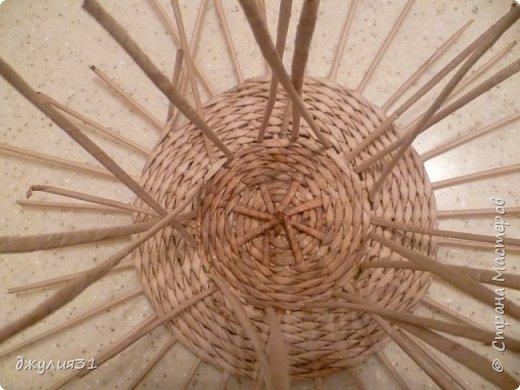 Мастер-класс Поделка изделие Плетение Плетеные кружки как их делела я    Трубочки бумажные фото 14