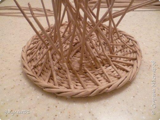 Мастер-класс Поделка изделие Плетение Плетеные кружки как их делела я    Трубочки бумажные фото 15