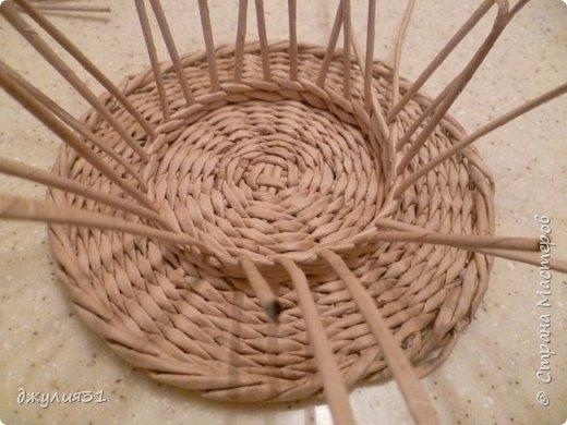 Мастер-класс Поделка изделие Плетение Плетеные кружки как их делела я    Трубочки бумажные фото 17