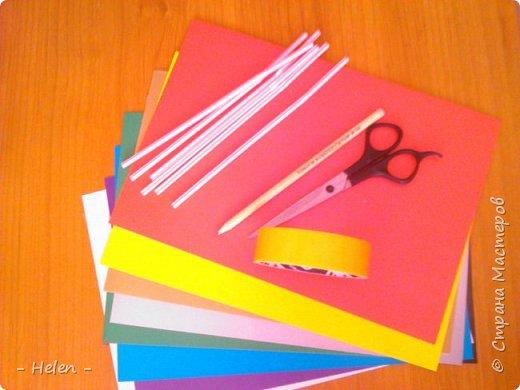 Поделки из бумаги ленты 49