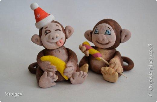 Картинка обезьянка своими руками на новый год