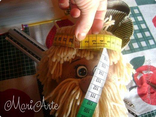 """Здравствуйте всем !!   Сегодня покажу как я шью кепочки для своих """"мужчин-кукол"""" )))  фото 10"""