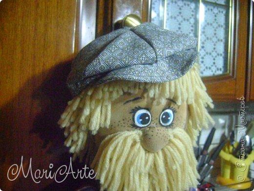 """Здравствуйте всем !!   Сегодня покажу как я шью кепочки для своих """"мужчин-кукол"""" )))  фото 32"""