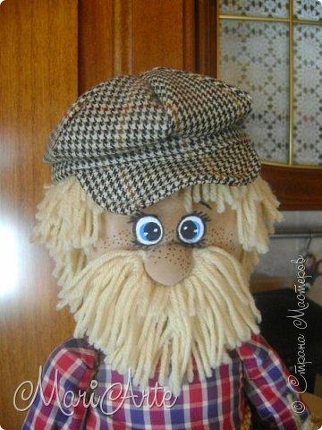 """Здравствуйте всем !!   Сегодня покажу как я шью кепочки для своих """"мужчин-кукол"""" )))  фото 35"""