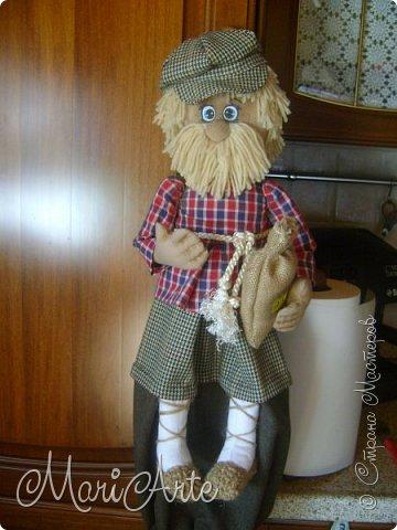 """Здравствуйте всем !!   Сегодня покажу как я шью кепочки для своих """"мужчин-кукол"""" )))  фото 36"""