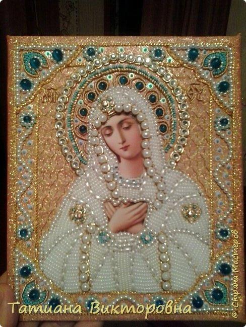 Казанская икона Божией Матери. Первый мой опыт. фото 8