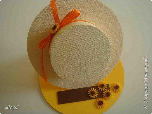 Мой вариант известной открытки - шляпки фото 1