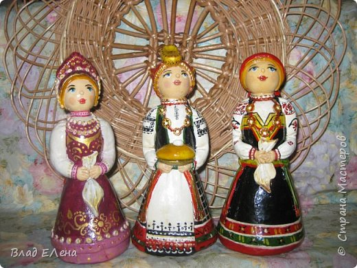 Все куклы в народных костюмах Белгородского края  фото 1