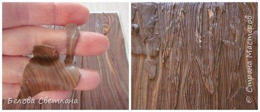 Сегодня я покажу вам некоторые этапы создания панно «Грибная история» из полимерной глины. Для работы нам понадобятся: полимерная глина (запекаемая), скалка или паста-машина, иголочка, зубочистка, резак, краски акриловые, лак глянцевый, зубная щётка и наши волшебные руки и фантазия! фото 5