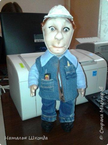 кукла прораб фото 1
