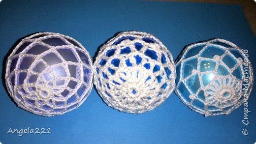 К Новому году люблю дарить шарики. Мои крестницы - малышки. Поэтому шарики должны быть безопасны. Эти не побьются, не выскользнут из ручонок. фото 16