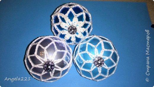 К Новому году люблю дарить шарики. Мои крестницы - малышки. Поэтому шарики должны быть безопасны. Эти не побьются, не выскользнут из ручонок. фото 1