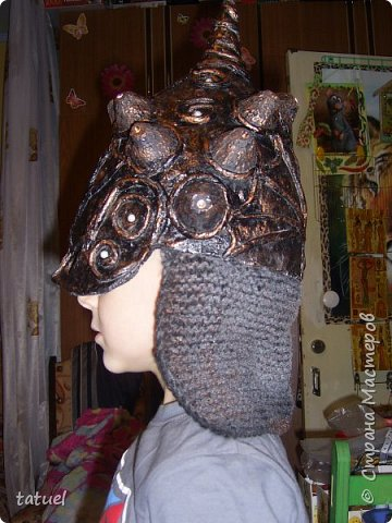 Всем доброго времени суток! Внучата попросили сделать шлемы.  Никогда ничего подобного не делала.  Поэтому это первый опыт в производстве шлемов . Все думала и планировала сам процесс создания.  Но нет ничего не возможного, оказывается! фото 4