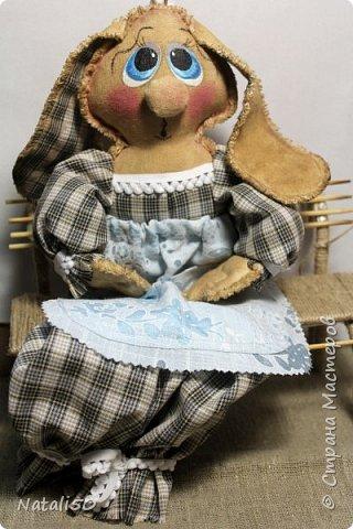 Доброго вечера всем!! Очаровали меня куклы Марианны(MariArte ) - МК здесь - https://stranamasterov.ru/node/972914  Вот и моя зайка - пакетница.. Кофейная красавица.. фото 1