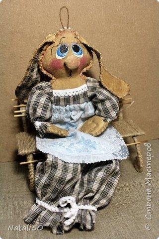Доброго вечера всем!! Очаровали меня куклы Марианны(MariArte ) - МК здесь - https://stranamasterov.ru/node/972914  Вот и моя зайка - пакетница.. Кофейная красавица.. фото 2