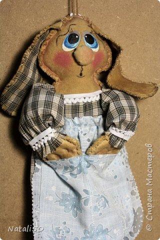 Доброго вечера всем!! Очаровали меня куклы Марианны(MariArte ) - МК здесь - https://stranamasterov.ru/node/972914  Вот и моя зайка - пакетница.. Кофейная красавица.. фото 4