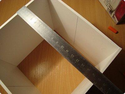 Мастер-класс Поделка изделие Моделирование конструирование Комод МК Картон Клей фото 6