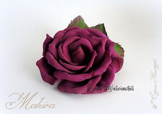 Брошь - роза  фото 2