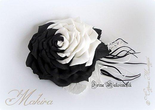 Брошь - роза