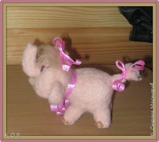 Розовая слоненка мечты