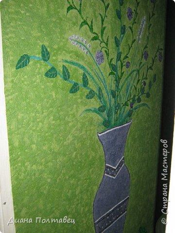 Мастер-класс Жидкие обои своими руками мк Бумага Гипс Клей Краска фото 15