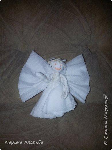 Добрый вечер! Сегодня я сделала Ангела.