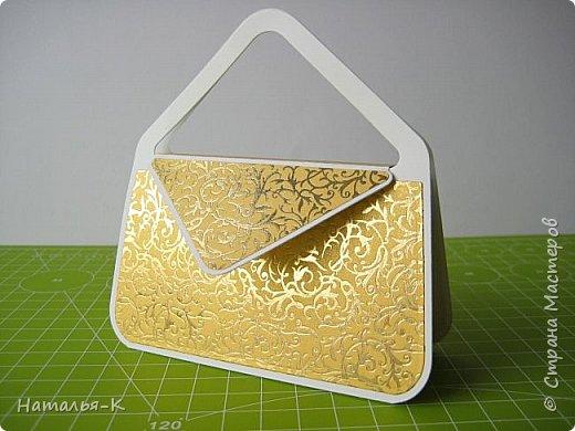 Здравствуйте всем, всем!  Предлагаю МК  сумочки - упаковки. В такой сумочке можно подарить небольшой подарок, можно деньги подарить скрутив в трубочку... и т. д. фото 27