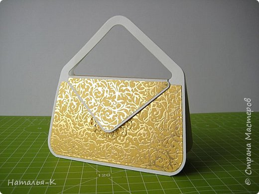 Здравствуйте всем, всем!  Предлагаю МК  сумочки - упаковки. В такой сумочке можно подарить небольшой подарок, можно деньги подарить скрутив в трубочку... и т. д. фото 1