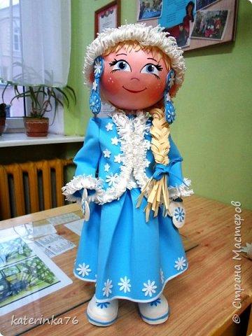 """эта девчушка была изготовлена специально для выставки """"Калядная зорка"""" в РБ"""