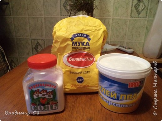 Мастер класс страна мастеров соленое тесто своими руками #2